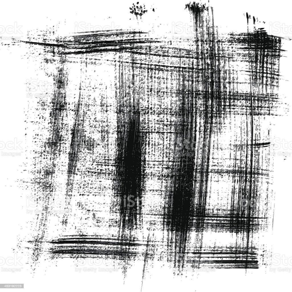 vector grunge brush stroke background royalty-free stock vector art