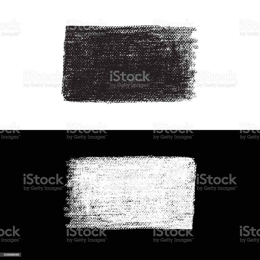 Vector  Grunge Brush vector art illustration