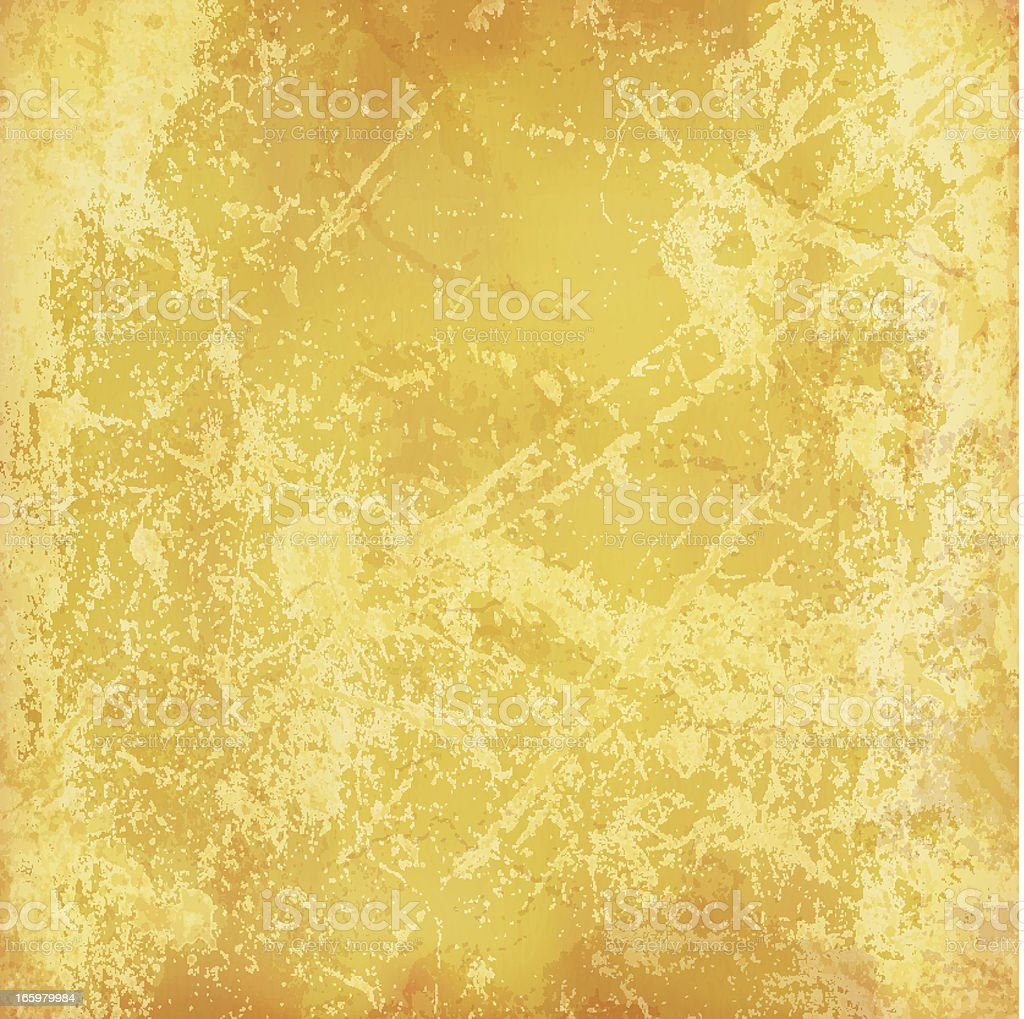 Vector grunge muted yellow background vector art illustration