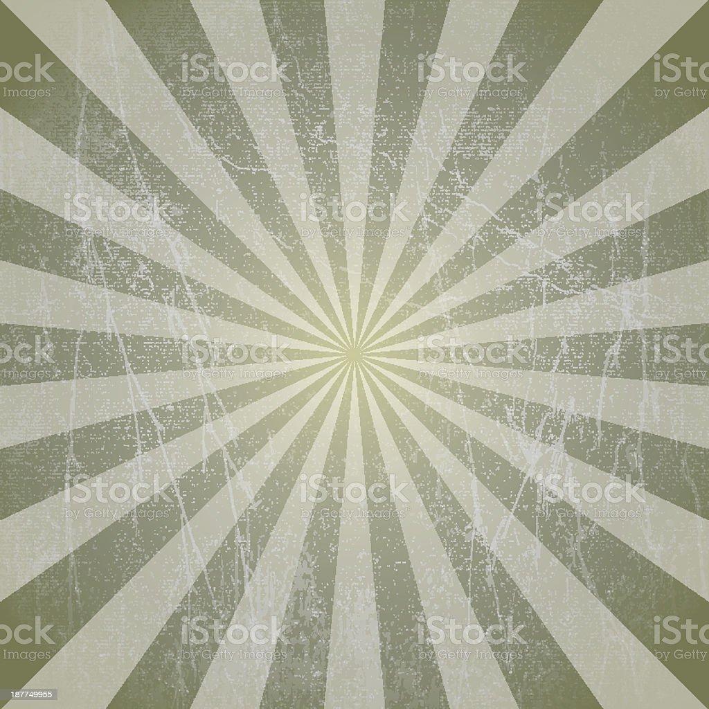 vector grunge sun rays background royalty-free stock vector art