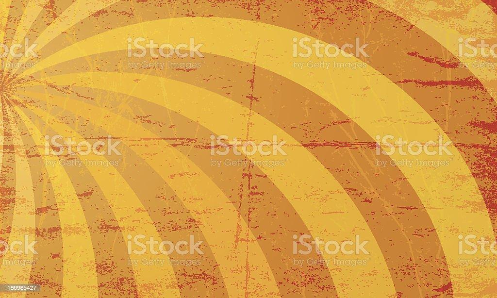 vector grunge sunburst background royalty-free stock vector art