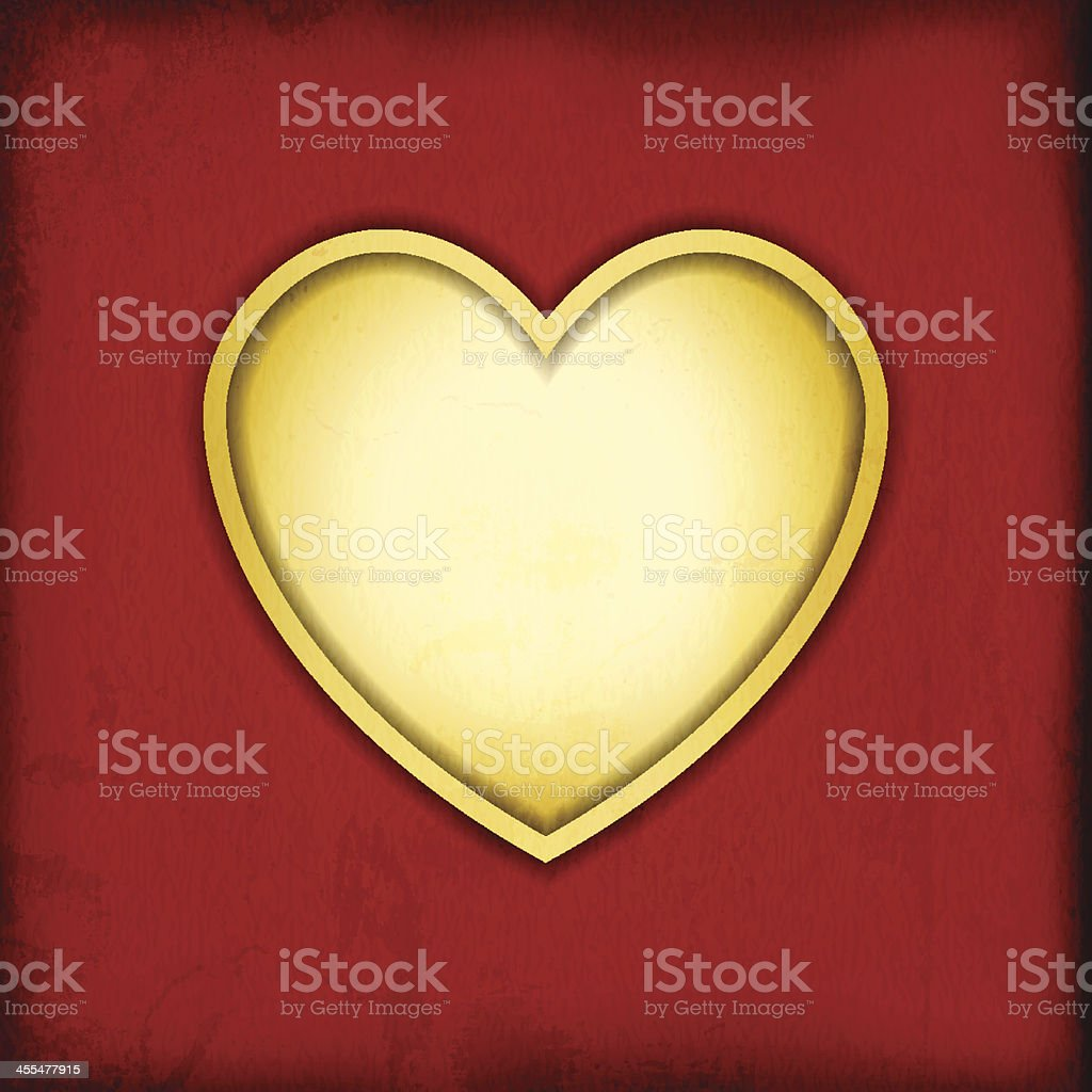Vector Grungy Love Background vector art illustration