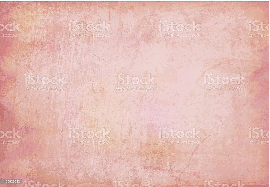 Vector Grungy Red Background royalty-free stock vector art