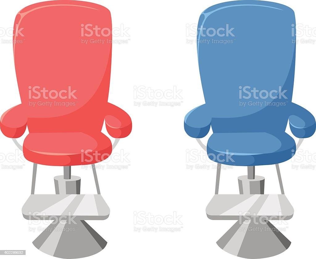 Barber chair vector - Vector Hairdresser Barber Chair Royalty Free Stock Vector Art