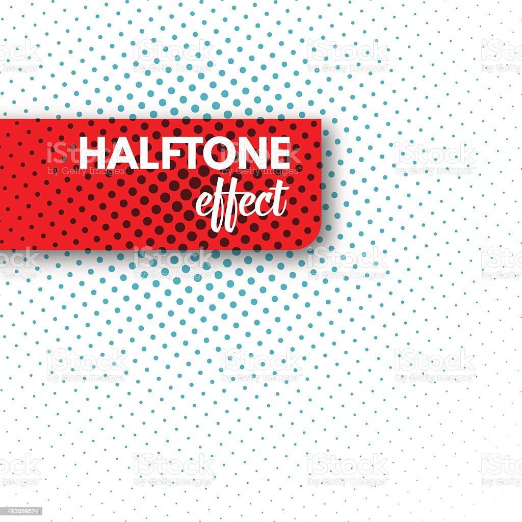 Vector Halftone background. vector art illustration