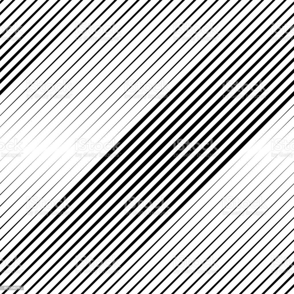 Vector Halftone Line Transition Wallpaper Pattern vector art illustration