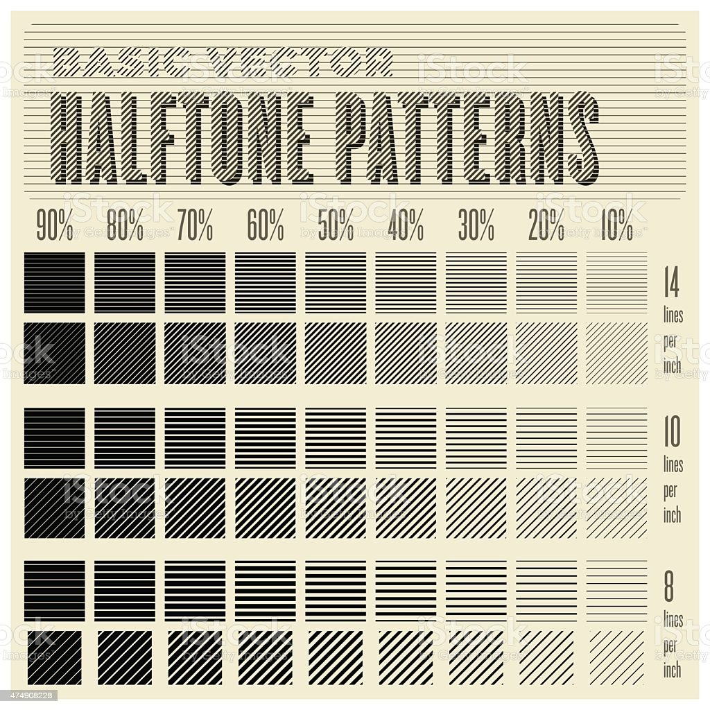 vector halftone pattern vector art illustration
