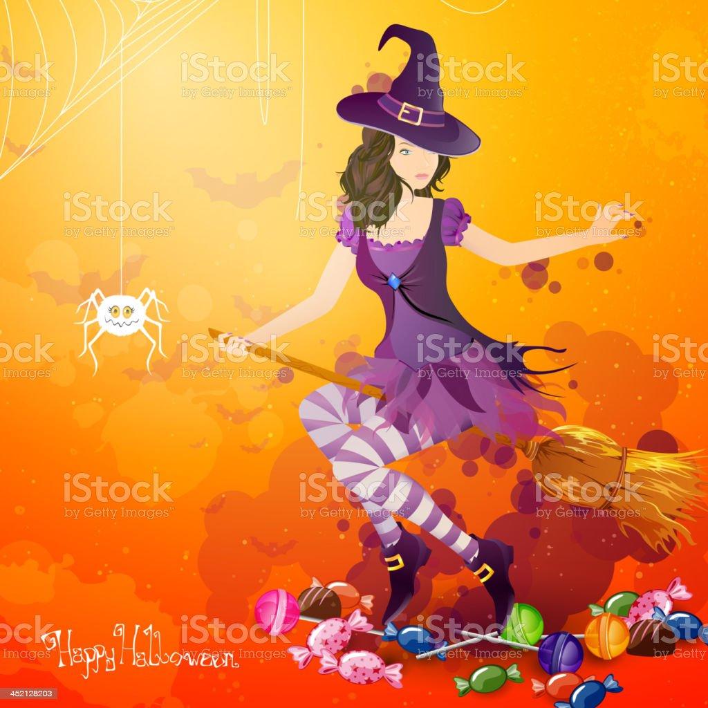 Vector Halloween Background royalty-free stock vector art