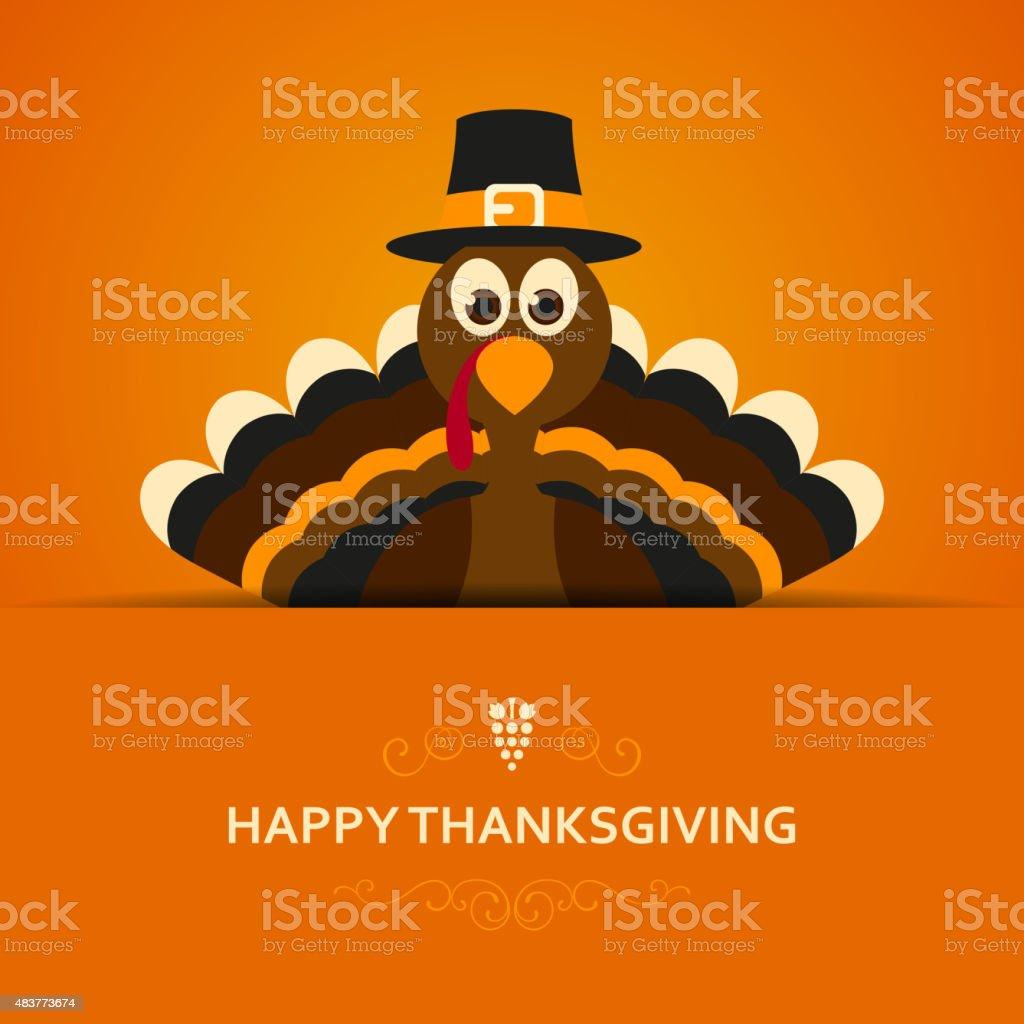 Vector Happy Thanksgiving Design vector art illustration