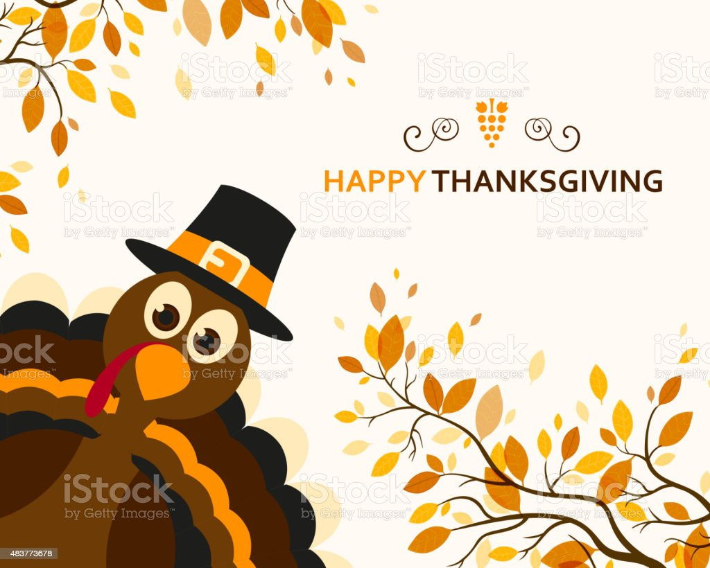Vector Happy Thanksgiving Design vector art illustration