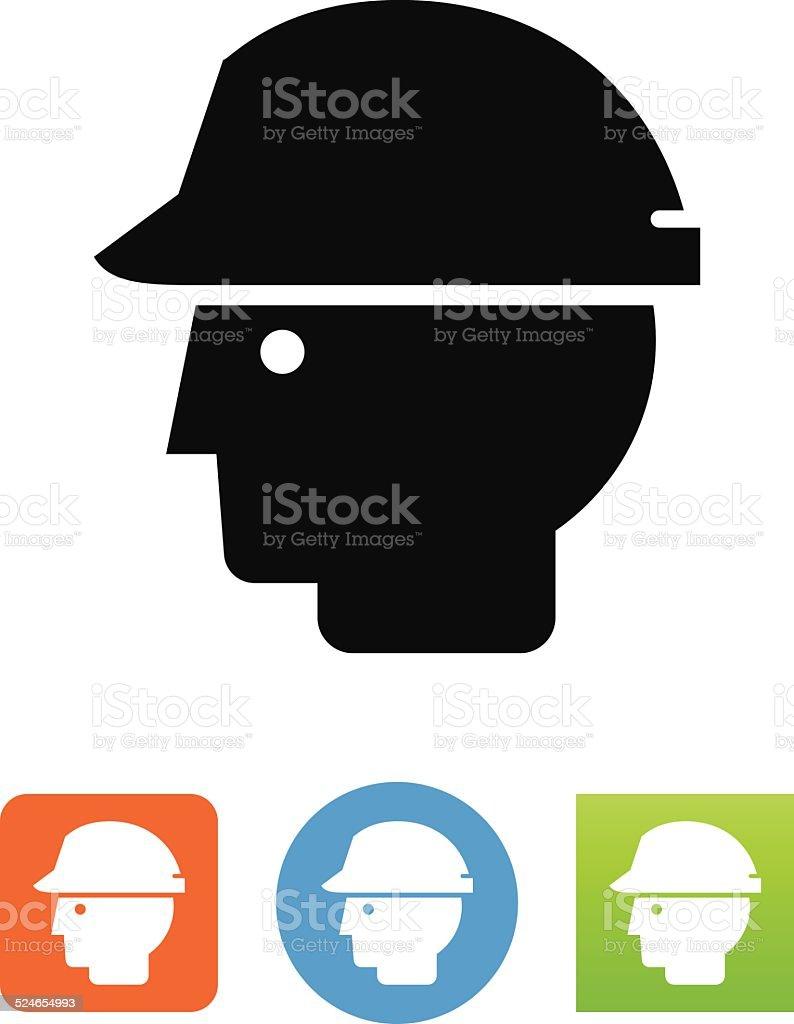 Vector Hard Hat Icon vector art illustration