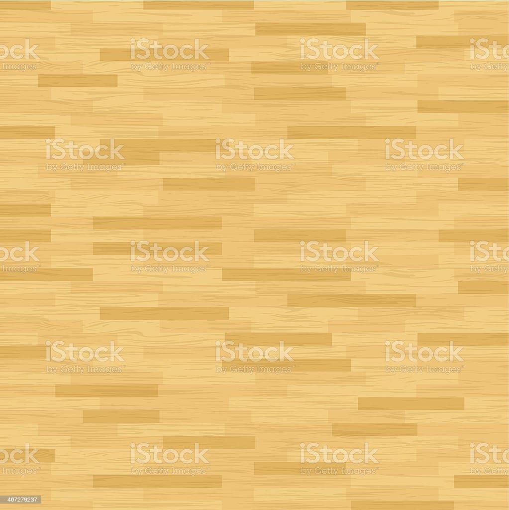 Vector Hardwood Floor vector art illustration