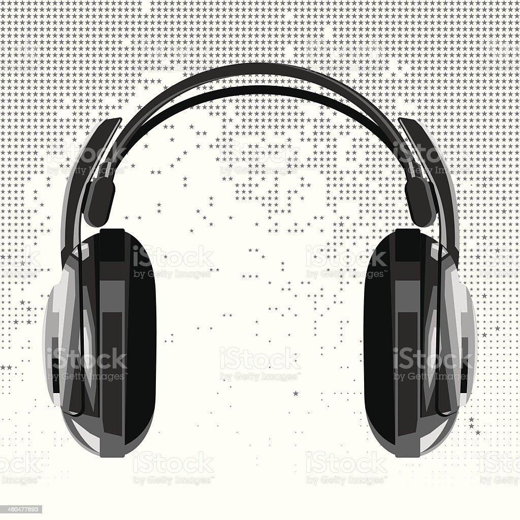 vector headphones royalty-free stock vector art