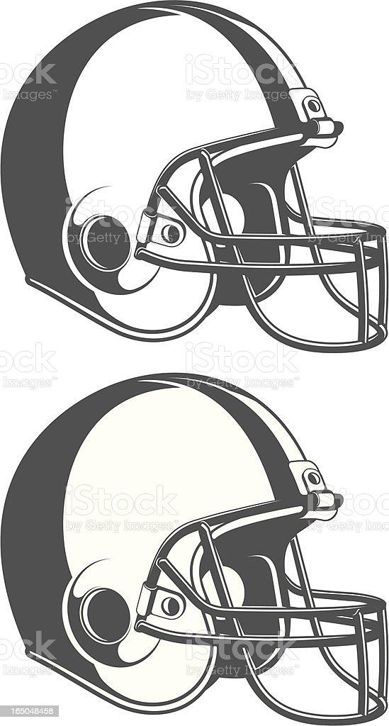 vector helmet royalty-free stock vector art