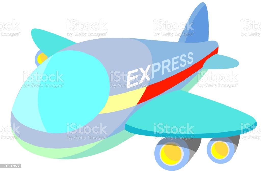 vector icon airplane royalty-free stock vector art