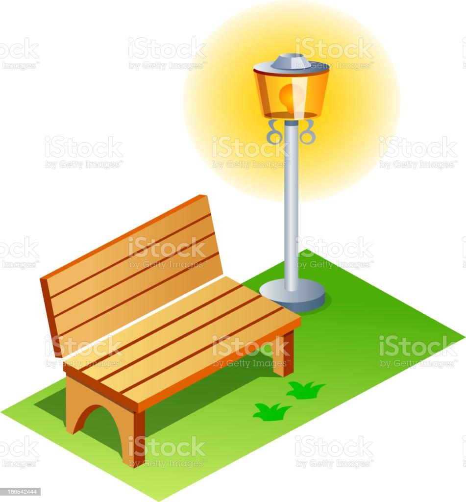 vector icon chair royalty-free stock vector art