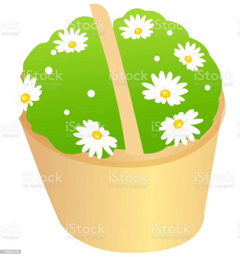 vector icon flower vector art illustration