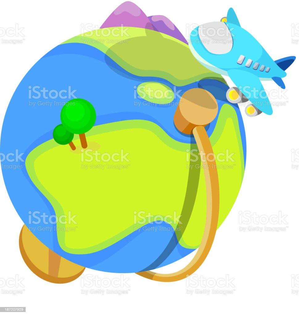 vector icon globe royalty-free stock vector art