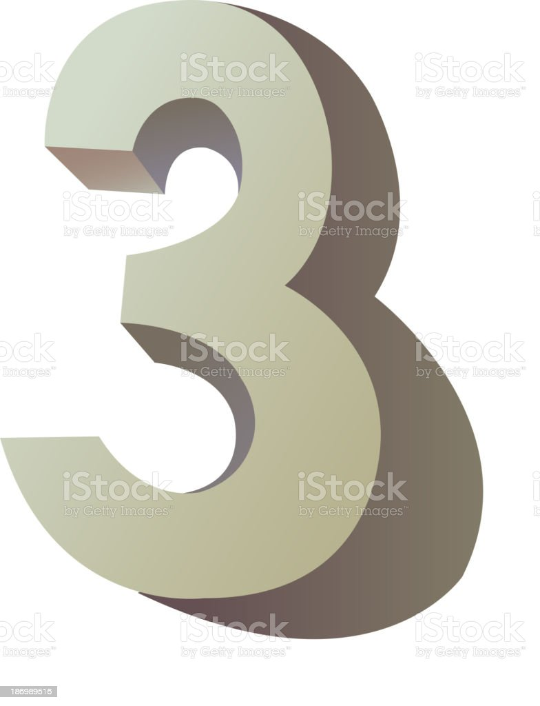 vector icon number royalty-free stock vector art