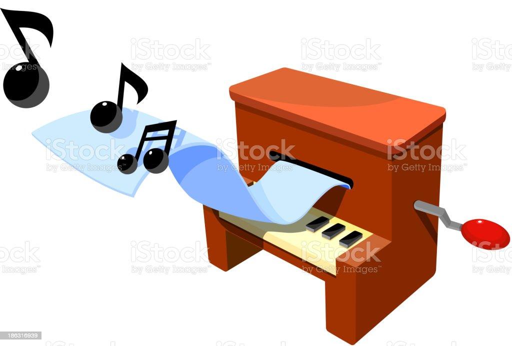 vector icon organ vector art illustration