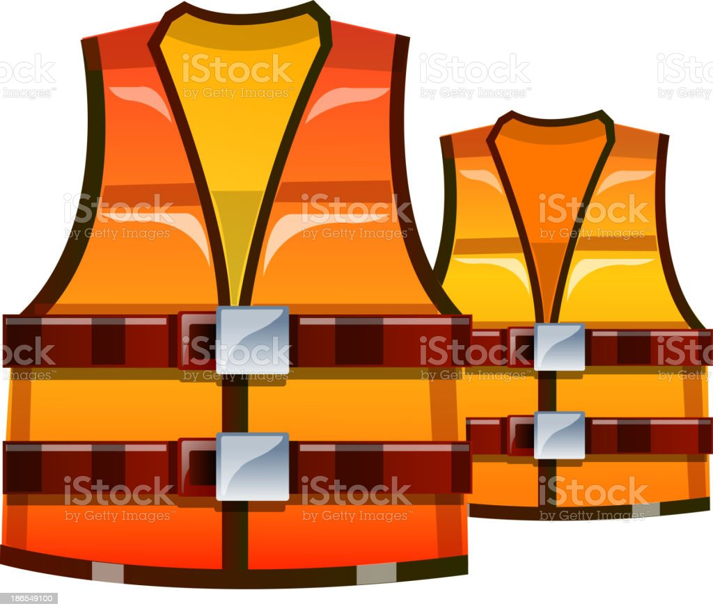 vector icon safety vest royalty-free stock vector art