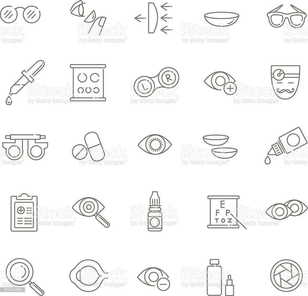 vector icons vector art illustration
