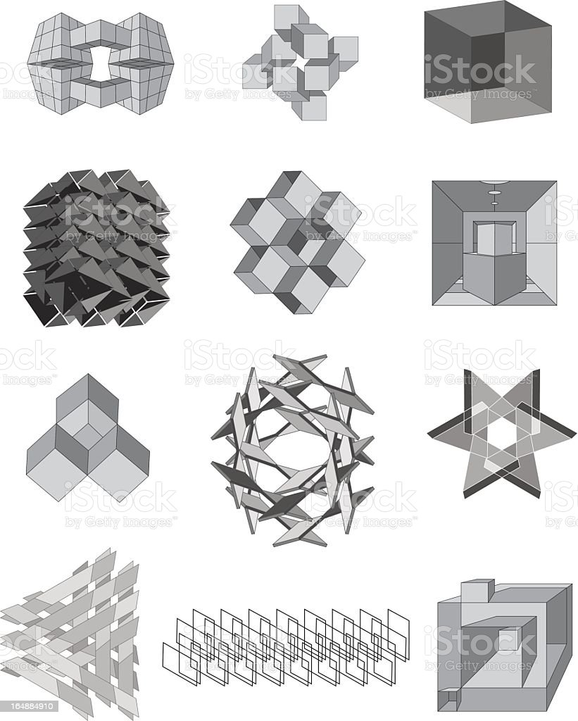 Vector Illusions royalty-free stock vector art