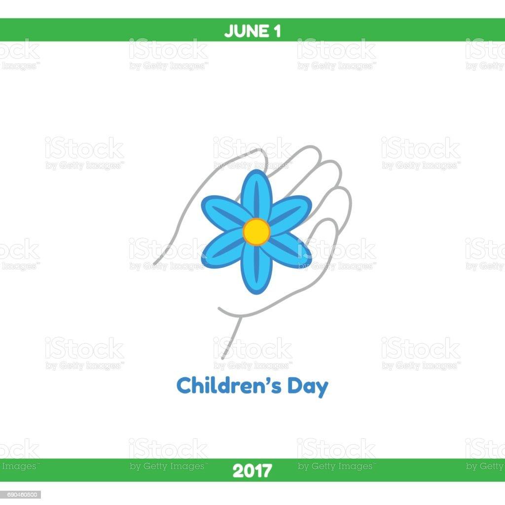 Vector illustration. Childrens Day vector art illustration