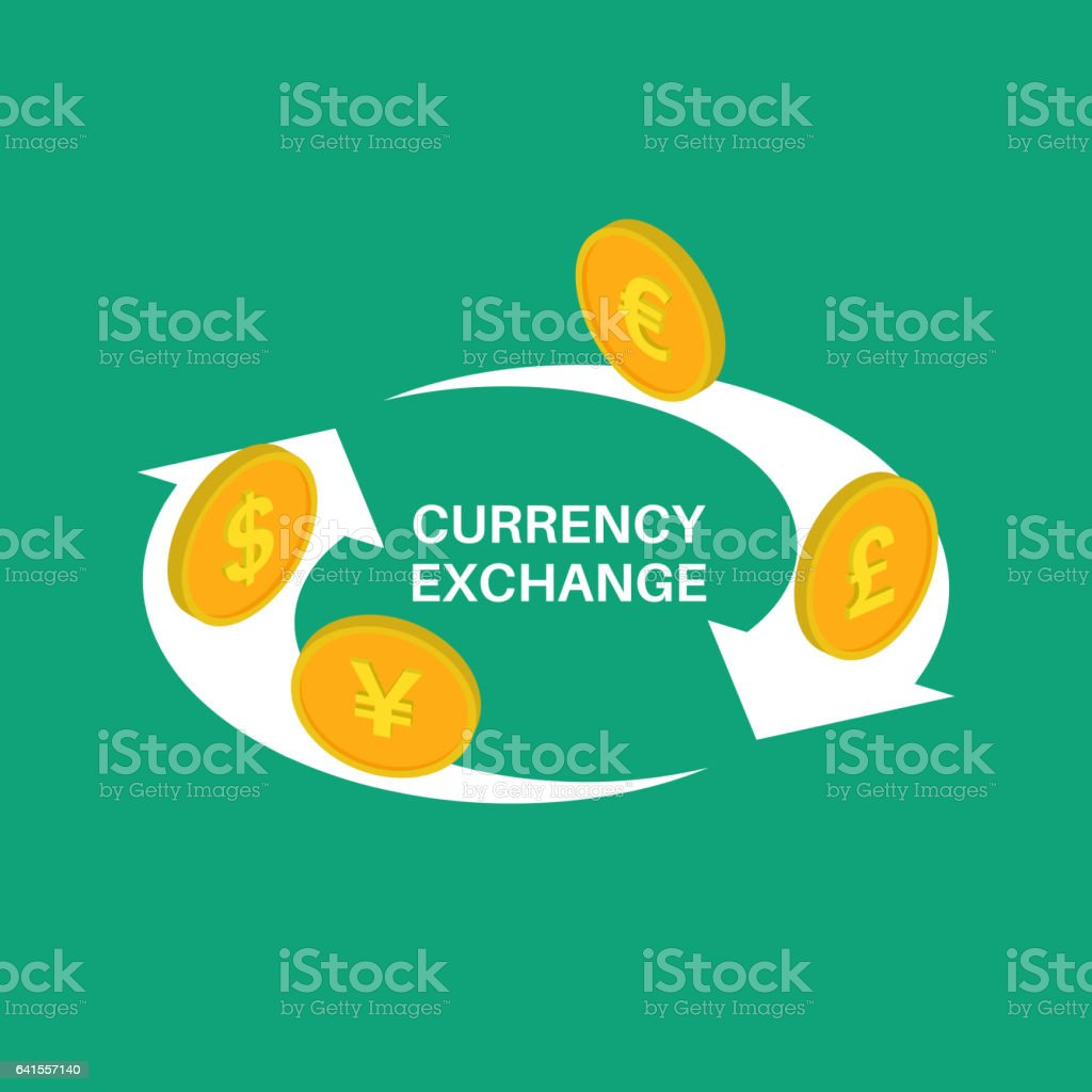 Vector illustration currency vector art illustration