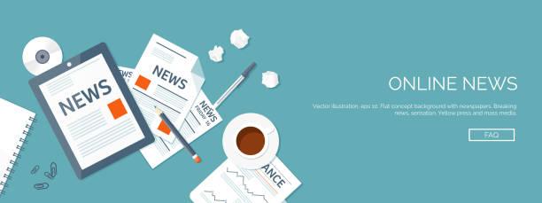 Newspaper Clip Art, Vector Images & Illustrations - iStock