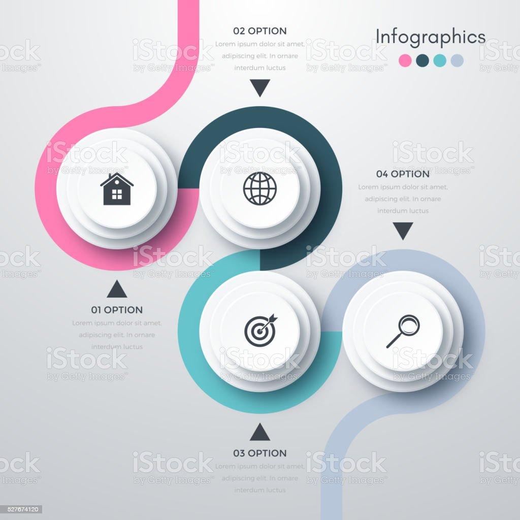 Vector illustration infographics vector art illustration