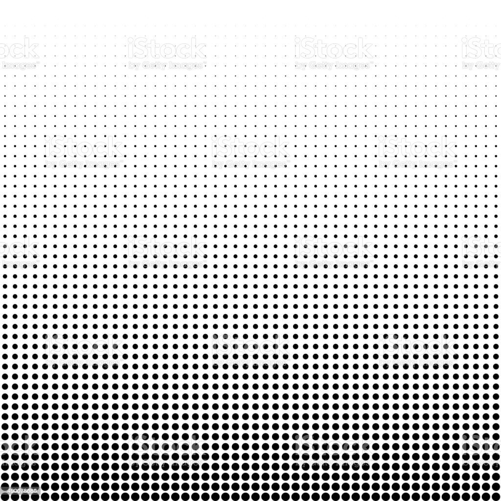 Vector illustration of a halftone vector art illustration