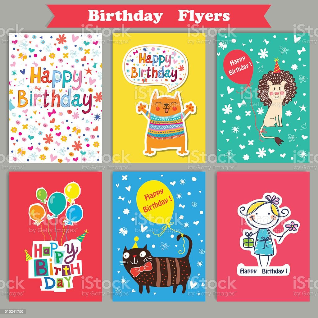 Vector Illustration of a Happy Birthday royalty-free stock vector art
