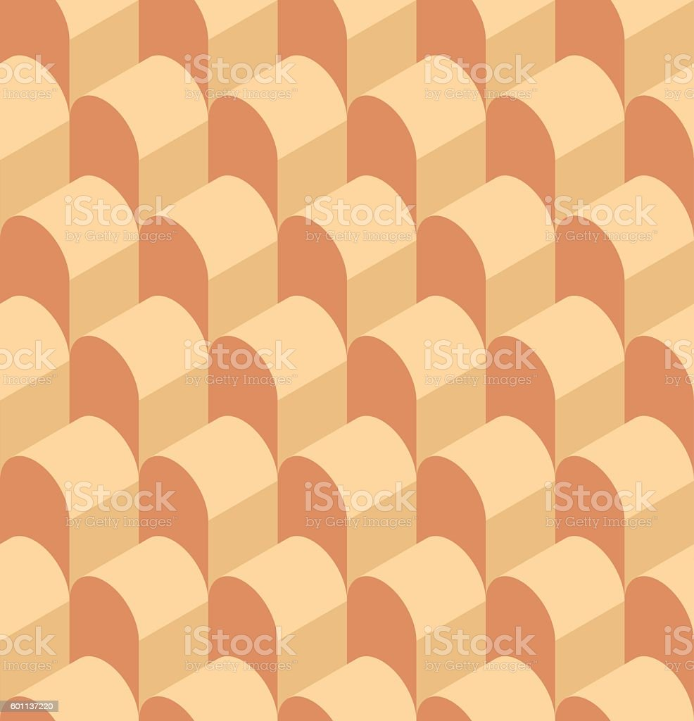 Vector illustration of a seamless repeating geometric Pattern. vector art illustration