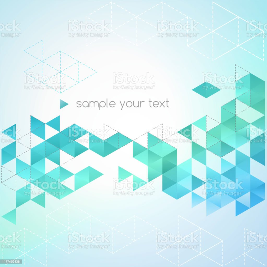 Vector illustration of abstract diamond background royalty-free stock vector art