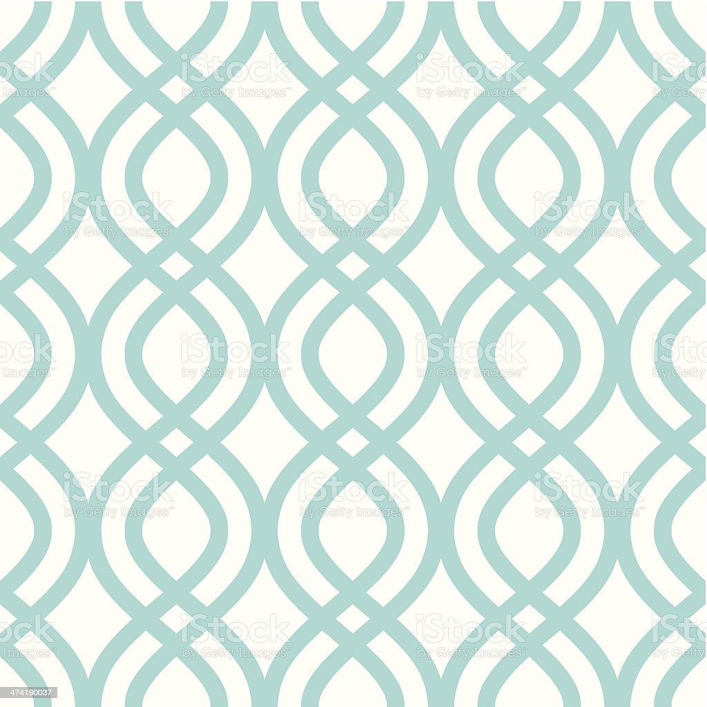 Vector illustration of abstract ornament pattern vector art illustration