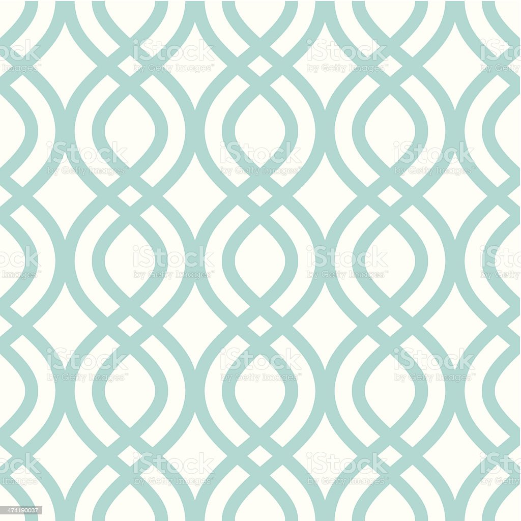 Vector illustration of abstract ornament pattern vector art illustration