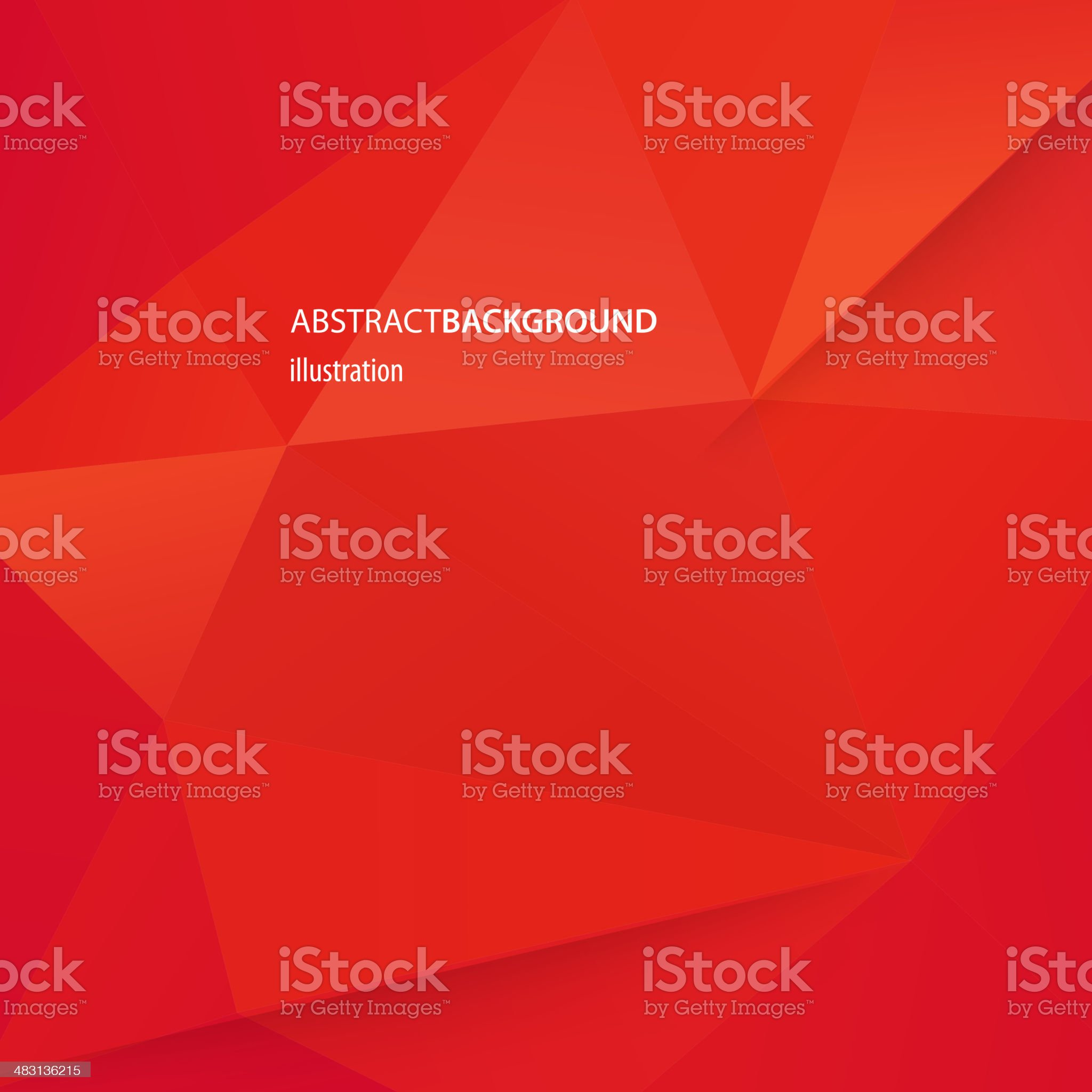 Vector illustration of abstract red background royalty-free stock vector art