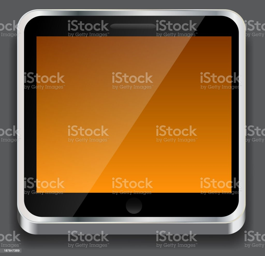 Vector illustration of apps icon royalty-free stock vector art