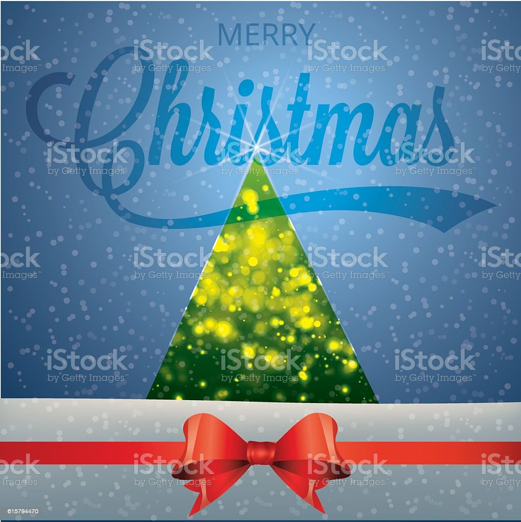 Vector illustration of Christmas and new year vector art illustration