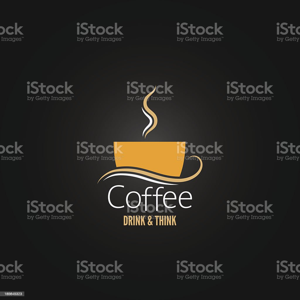 Vector illustration of coffee cup concept vector art illustration