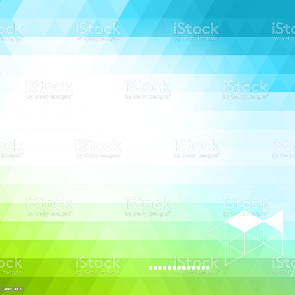 Vector illustration of colorful background vector art illustration