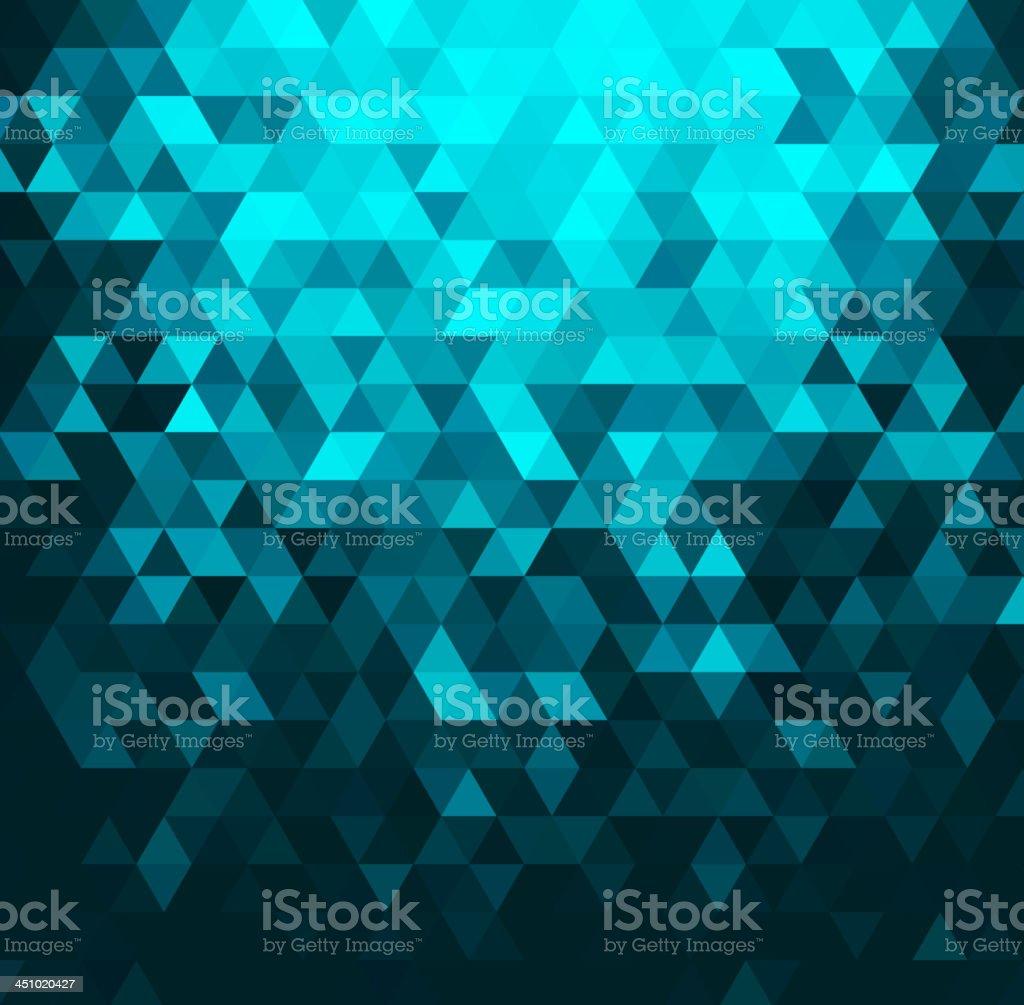 Vector illustration of crystal abstract background vector art illustration