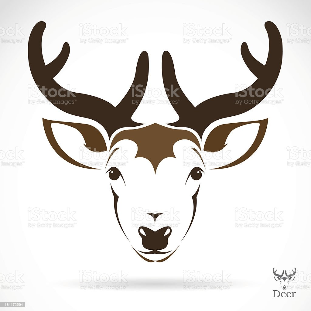 Vector illustration of deer royalty-free stock vector art