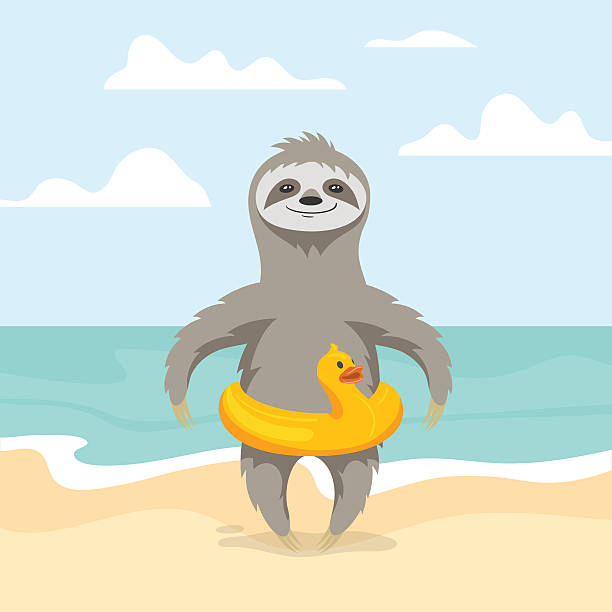 Sloth Clip Art, Vector Images & Illustrations - iStock