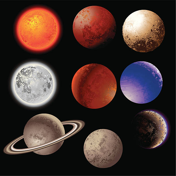 the 9 planets clip art - photo #26