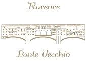 vector illustration of Ponte Vecchio