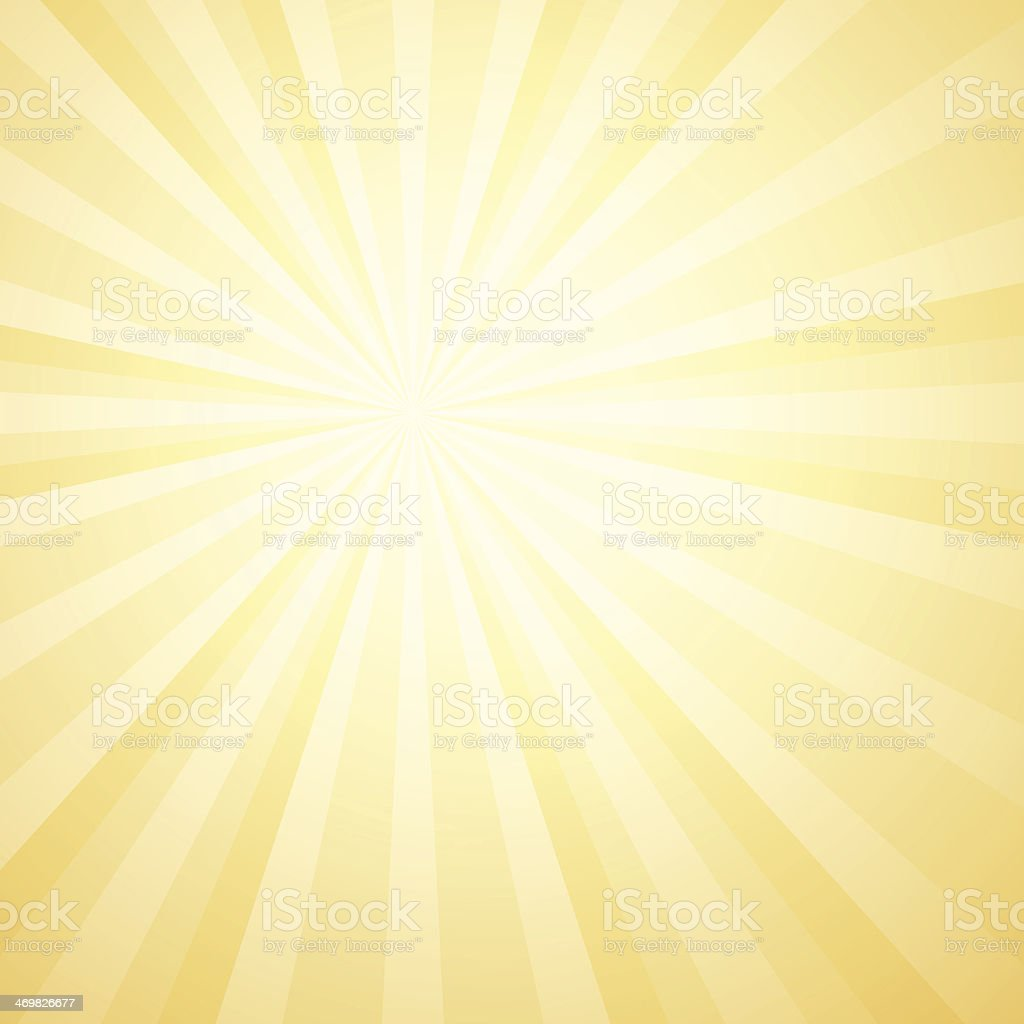 Vector illustration of sunburst background vector art illustration