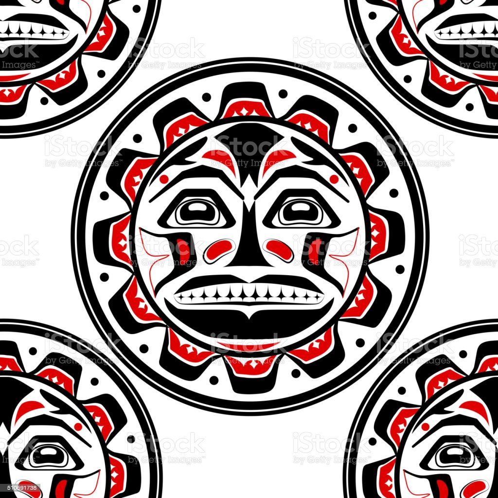 Vector illustration of the sun symbol vector art illustration