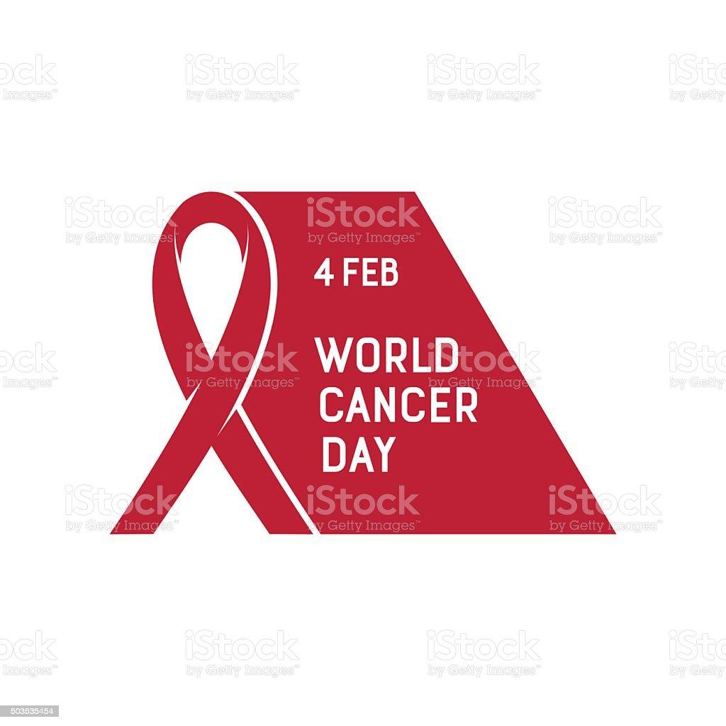 Vector illustration of World Cancer Day. vector art illustration